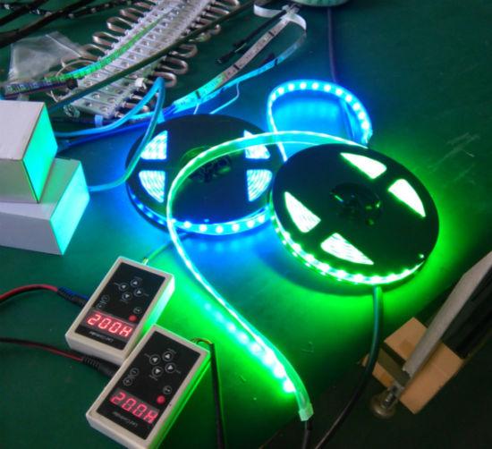 the latest 262f8 02f1f Digital RGB Ws2811 Ws2812b LED DC5V DMX Controller LED Strip