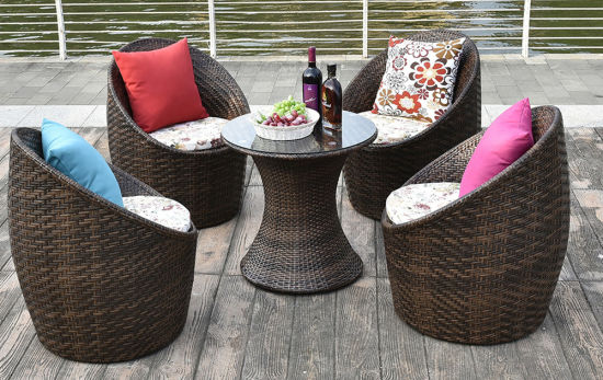 Wholesale Restaurant Garden Patio Furniture Folding Outdoor Bar Furniture Table