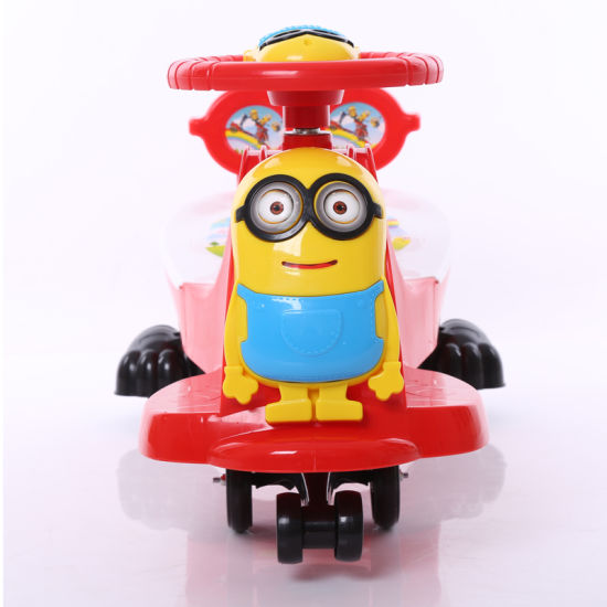 Top Selling New Model Plastic Baby Swing Car pictures & photos