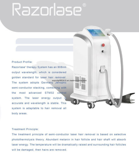FDA Cleared Diode Laser Hair Removal Machine (Sincoheren Razorlase) pictures & photos