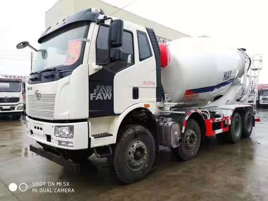 China Shengrun Concrete Mixer Truck Tank Semi Trailer pictures & photos