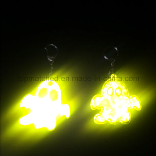 Factory Any Shape Ghost Reflective Pendant for Halloween Decorations pictures & photos
