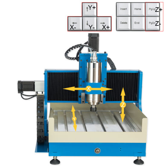 Mini CNC Engraving Machine for Woodworking Processing pictures & photos