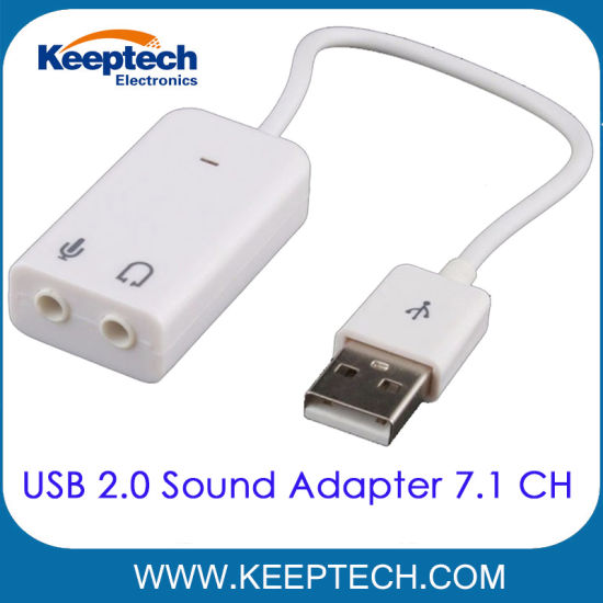 USB 2.0 Sound Adapter Cable 7.1 Channel Top Quality