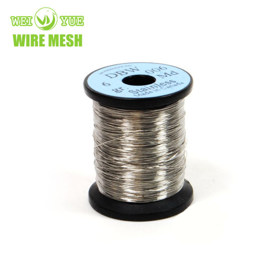 Ultra Thin Bright Annealed Stainless Steel 316 Weaving Wire Used for Cut Resistant Gloves