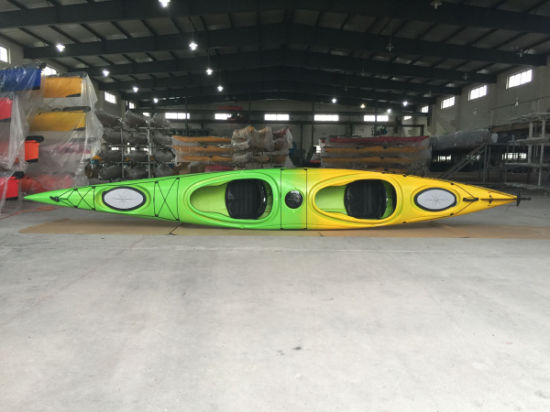 Factory Wholesale Professional Polyethylene Ocean Kayak Sea Touring Double Kayak