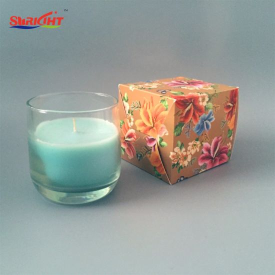 Wholesale Classical Round Scented Jar Glass Candle Made in China