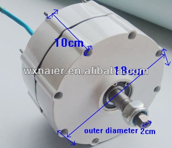600W 12V/24V/48V Permanent Magnet Generator Alternator for Wind Turbine pictures & photos
