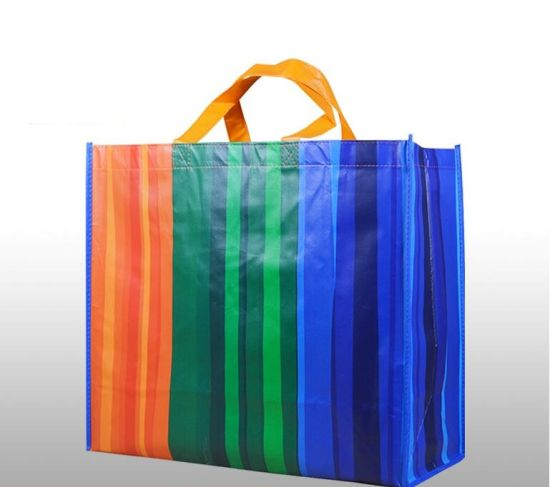 china 40 50cm large waterproof non woven shopping bag foldable tote
