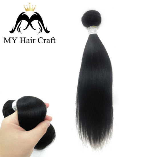 Wholesale Natural Color Straight Brazilian Virgin Human Hair Extensions