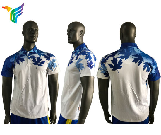 de65c16eb Design Your Own Sublimation Polo Shirt Custom Digital Printing Men Woman Dri  Fit T Shirt