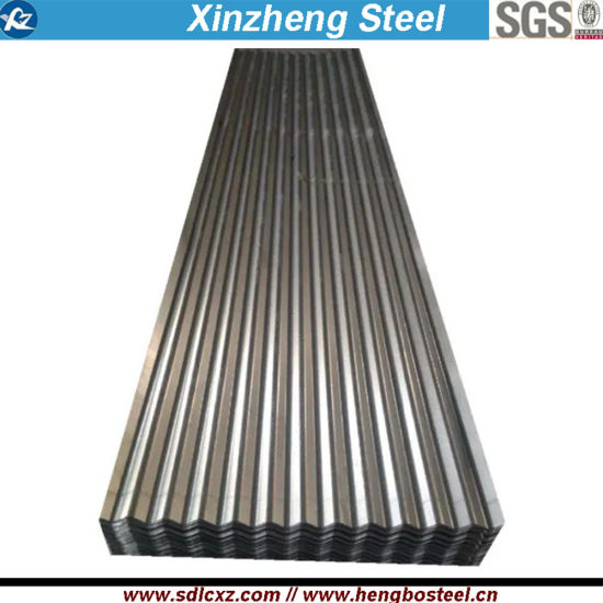 0.12mm Steel Product Corrugated Galvanized Sheet