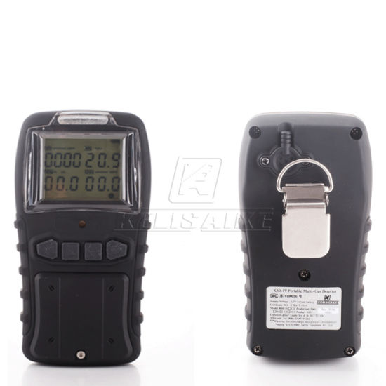 Easy Operation Explosion Proof Pumping 4 Gas Analyzer Gas Alarm Gas Tester pictures & photos