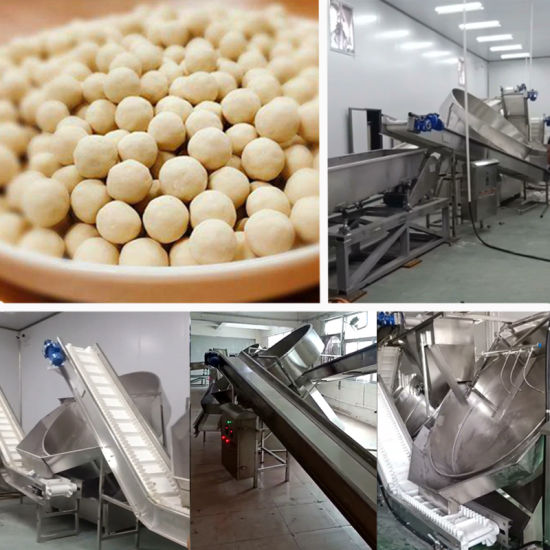 Boba Bubble Milk Tea Tapioca Pearl Producttion Line