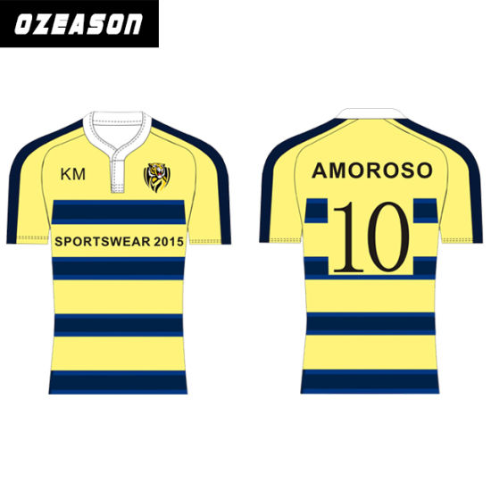 32d4d4fab60 China Custom Design Sublimated Practice Shirts Rugby Jersey - China ...