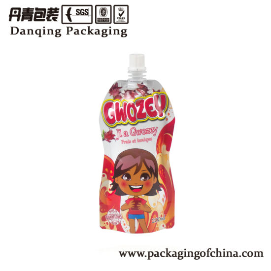200ml Fruit Juice Doypack Pouch with Spout (DQ139) pictures & photos