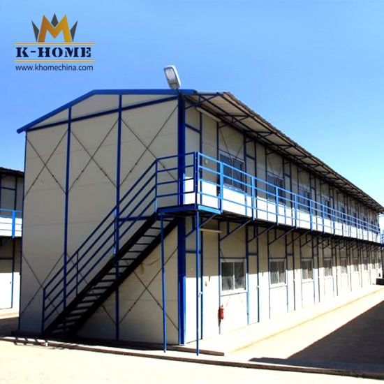 Fast Building Modular Site Office Labor Camp Temporary Dormitory House