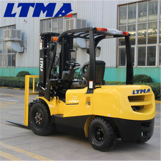 Ltma 2 Ton Hydraulic Manual Diesel Forklift Truck pictures & photos