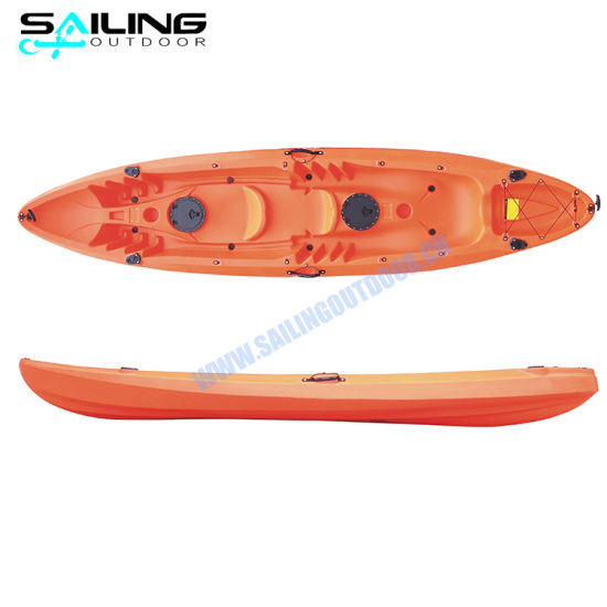 Plastic Molde Kayak Canoe Family Kayaks with Paddles pictures & photos