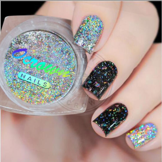 Shimmer Dust Galaxy Holographic Glitter Rainbow Glitters For Nail Polish
