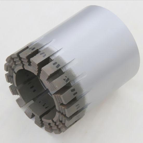 China Wire-Line Hq3 Nq3 Turbo Crown Impregnated Diamond Bit - China ...