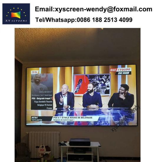 Xiaomi 4K Mijia Ultra Short Throw Alr Projector Screen 100 Inch, 120 Inch