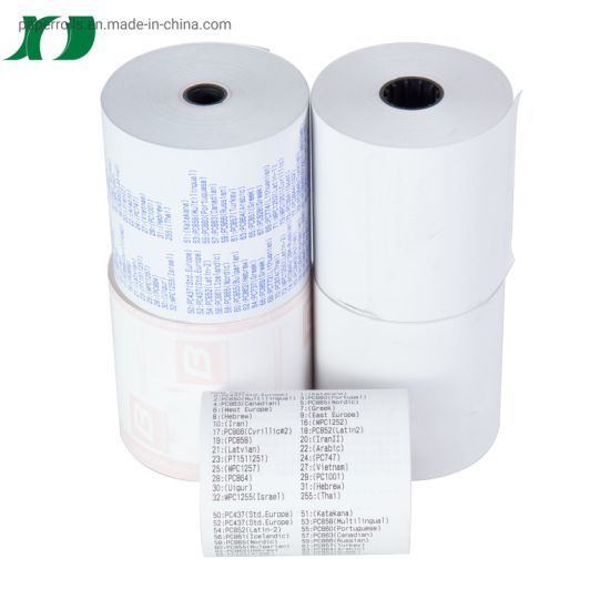 Customizable Thermal Paper Rolls POS Terminal Thermal Receipt Paper