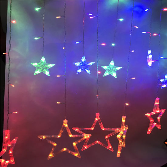 China Hot Sale High Quality Holiday Party Decoration Waterproof Star LED Strip Light