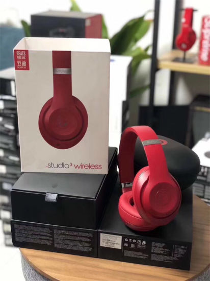 China W1 Chip Active Noise Cancelling Bluetooth Studio3 Wireless Over Ear Headphones Red China Studio3 Wireless Headphone And Studio3 Wireless Headset Price