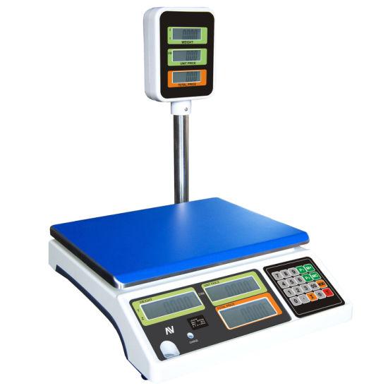 Digital Pricing Scale Maximum Capacity 40kg