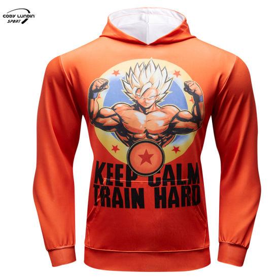 Cody Lundin Mens Cotton Hoodie Mens Hoodies Sweatshirts Goku 100% Cotton Hoodies Blank Super Saiyan Sweatshirt Men's Sportswear