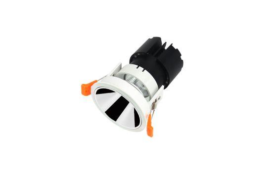 Lampholder GU10 MR16 Fixture Downlight LED Crystal Anti-Glare Recessed LED Downlight