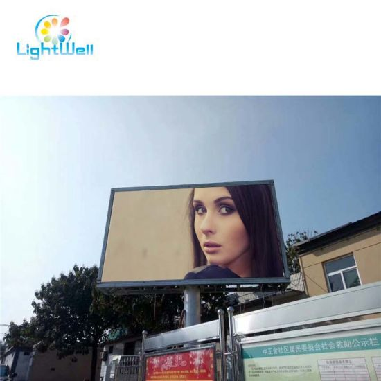 Lw Wall Mounted Advertising RGB LED Wall Video Panel for Decorative