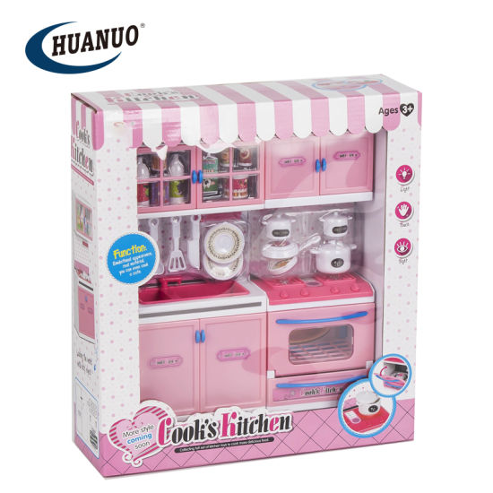 Play House Games Pink Cooking Series Toys Kitchen Set For Kids China New Kitchen Set And Modern Kitchen Set Price Made In China Com