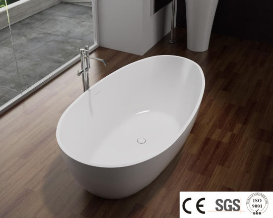 pH0623 Acrylic Solid Surface Small Freestanding Acrylic Bathtub pictures & photos