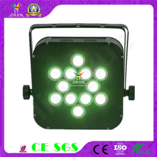 12X12W Wireless PAR Can Flat Bar LED Light with Battery pictures & photos