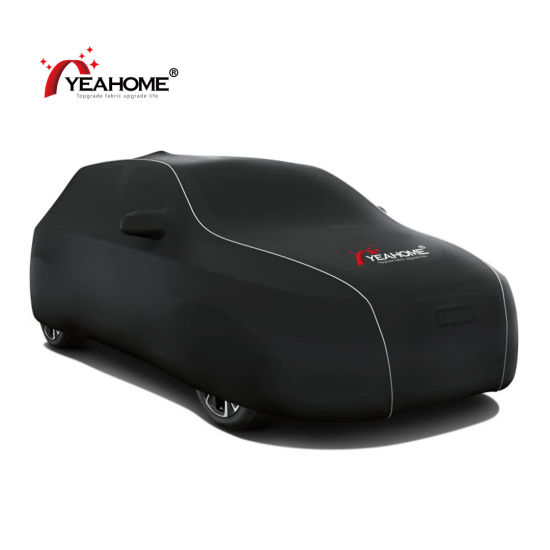 Top Quality Elastic Soft Feeling Covers Breathable Dust-Proof Indoor Auto Car Cover pictures & photos