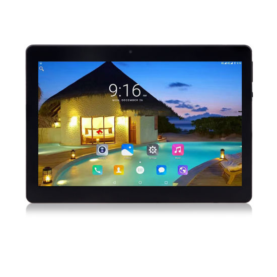 Android Tablets 10 Inch with IPS Mtk Mt6580 Quad Core Android 6.0 SIM
