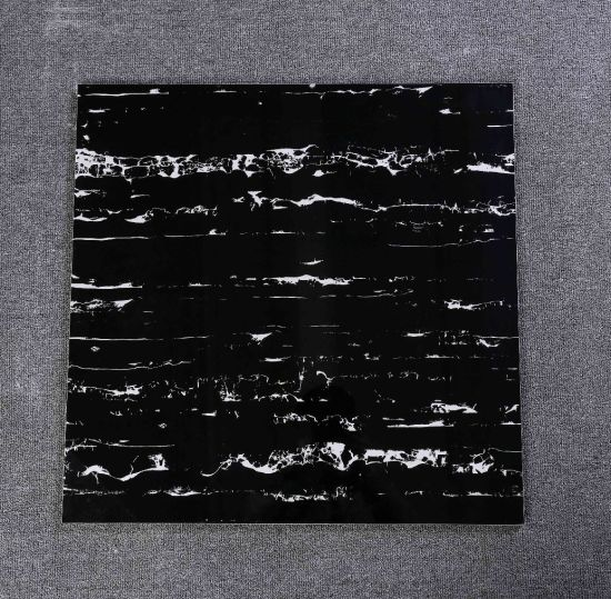 Latest Design Black Marble Look Kitchen Wall and Floor Tile