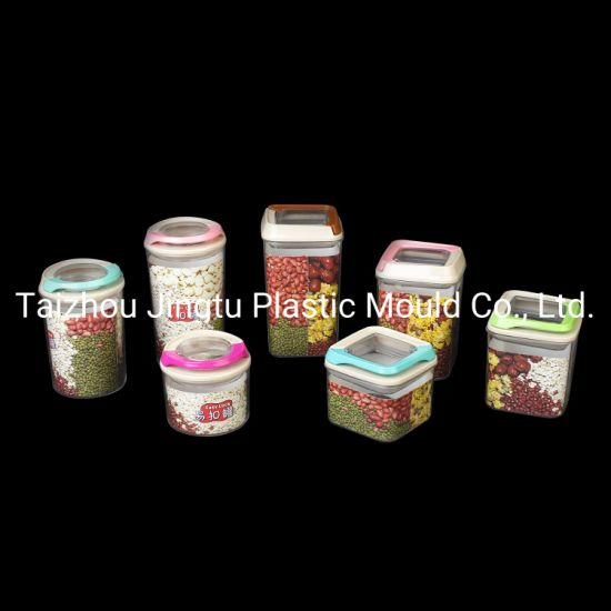 Plastic Cans for Wrapping Herbal Tea pictures & photos
