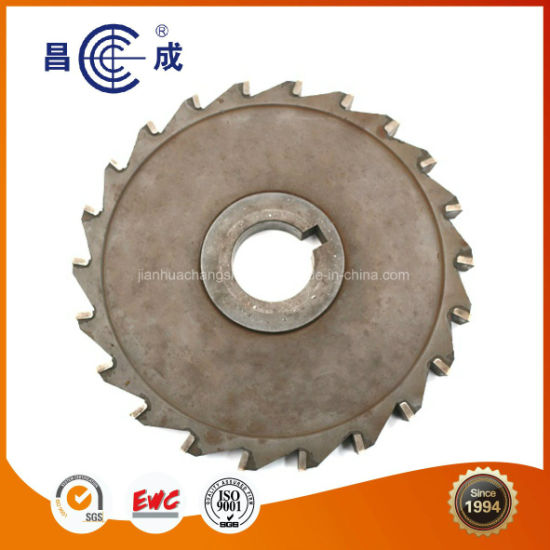 Steel Made Carbide Insert Saw Blade Side Milling Cutter