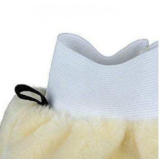 Original Factory Sheepskin Wash Mitt for Export pictures & photos