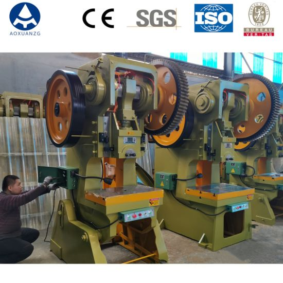 Frame Single Crank Mechanical Stamping Power Press for Making Metal Parts