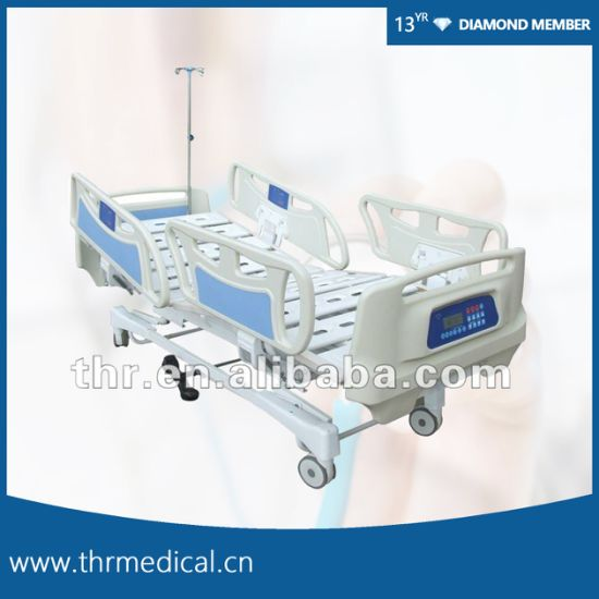 High Quality! Five Function Electric ICU Hospital Bed (THR-EB5300)