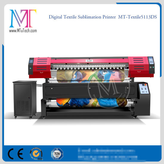 1.8 Meter Large Format Textile Printer Direct Fabric Digital Printing Inkjet Sublimation Printer Machine