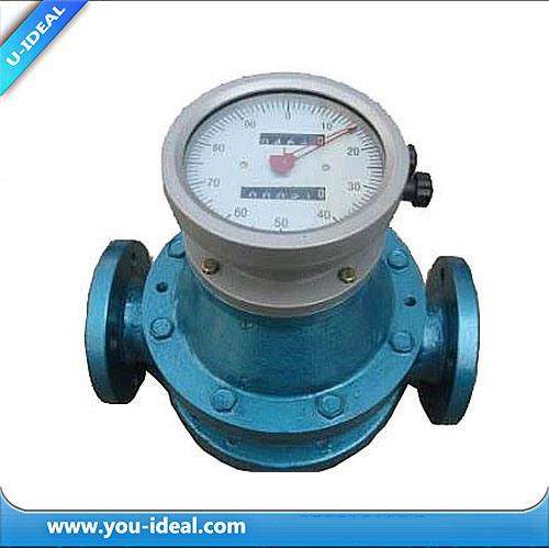 China Oval Gear Flow Meter Mechanical Flow Meter