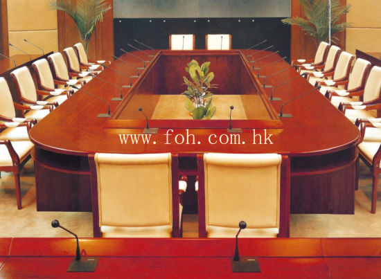 China Person Large Wooden Conference Table Boardroom Meeting - Large wooden conference table