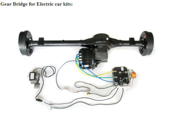 72V 10kw BLDC Motor with Fan Cooled pictures & photos