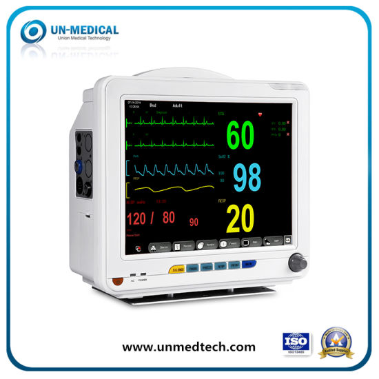 "8.4"" Touch Screen Anesthesia Gas ICU Patient Monitor pictures & photos"