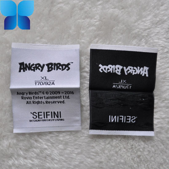 Flat High Quality Woven Label for Garment Accessories pictures & photos